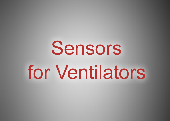 Pressure Sensors for Ventilators